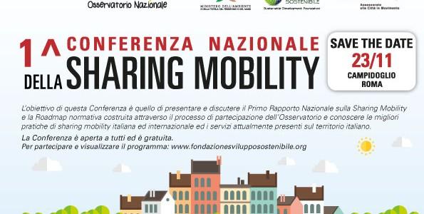 Presentazione del primo Rapporto Nazionale sulla Sharing Mobility